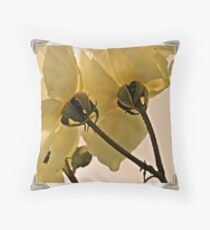 ~Calyces and Sepals~ Throw Pillow