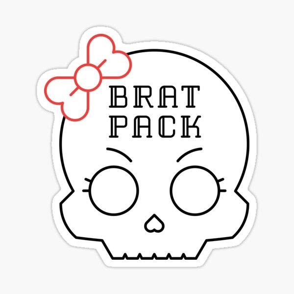 Brat Pack Sticker