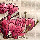 Magnolias In Modern Times by Alexandra Felgate