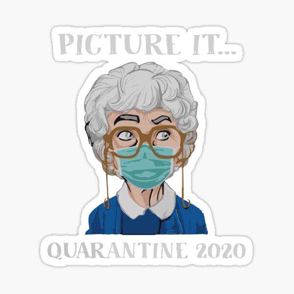 Picture it Quarantine 2020 Sticker