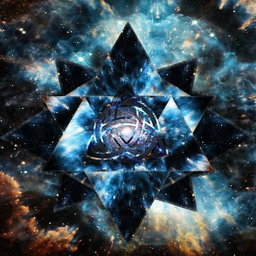 Celtic Triforce Merkaba by Nate4D7