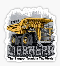 The Biggest Truck In The World Sticker