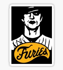 The Warriors Baseball Furies Sticker