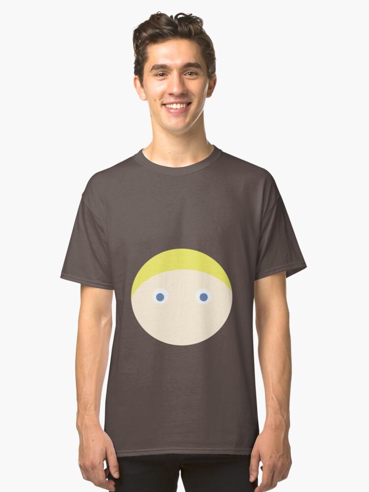 Blonde Hair Blue Eyed Boy Classic T Shirt By Rjcham Redbubble