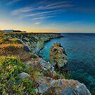 Coastline at sunset  by Andrea Rapisarda