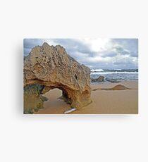 Beachport Limestone Arch  Canvas Print