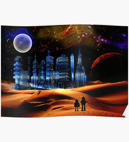 Phantom City on the 13th Moon of Gernia Poster