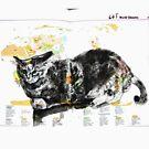 Animal Atlas - Cat World Climates - by Alexcarletti