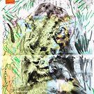 Animal Atlas - Lion by Alexcarletti