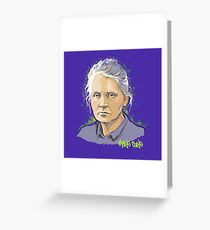 Marie Curie - Nobel Prize Winner Greeting Card