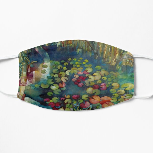 water lillies Mask