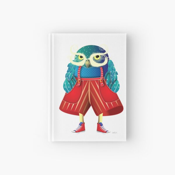 My Owl Red Pants Hardcover Journal