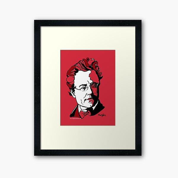 Gustav Mahler Composer Framed Art Print