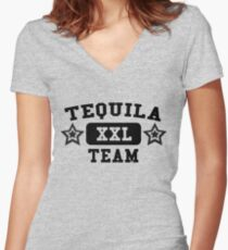 Tequila - XXL - Team Women's Fitted V-Neck T-Shirt
