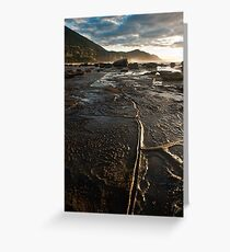 RockShelf - Coalcliff Greeting Card
