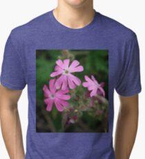 Pink Petals Tri-blend T-Shirt