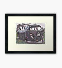 Battle Bus Framed Print