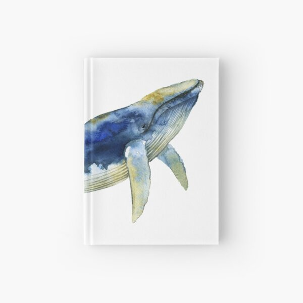 Blue Whale Hardcover Journal