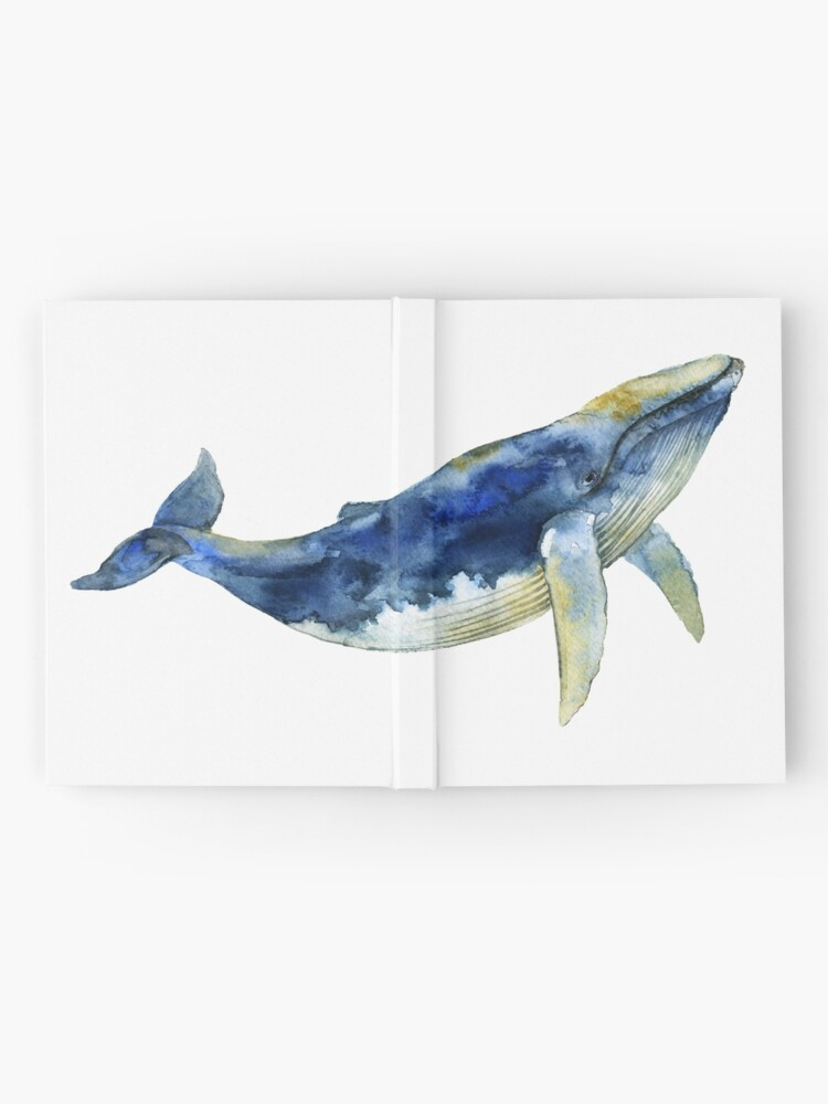 Alternate view of  Blue Whale Hardcover Journal