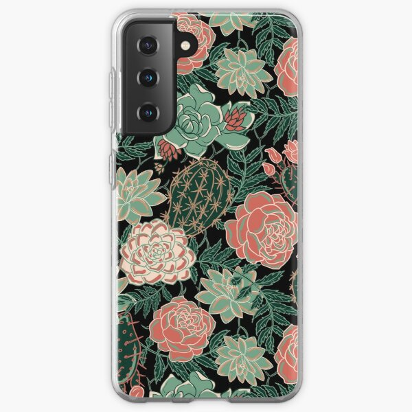 succulent Samsung Galaxy Soft Case