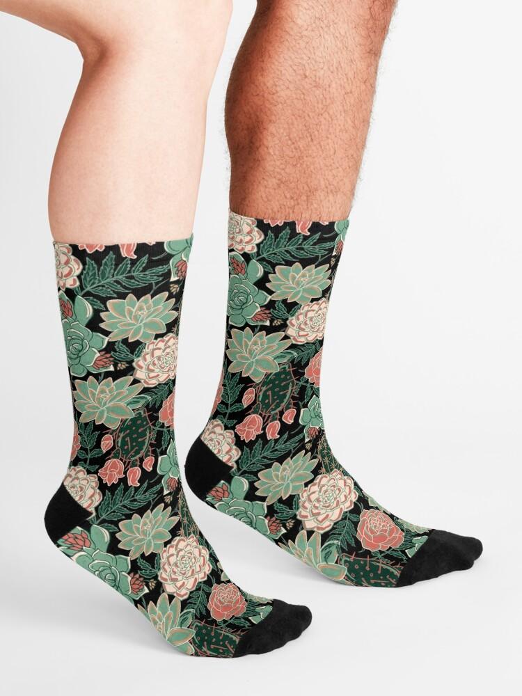 Alternate view of succulent Socks