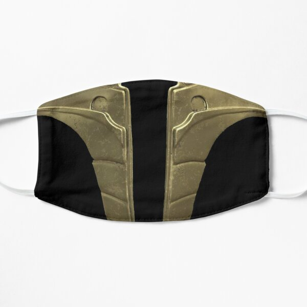 Jade Mortal Kombat Mask Mask By Thestickerbook Redbubble