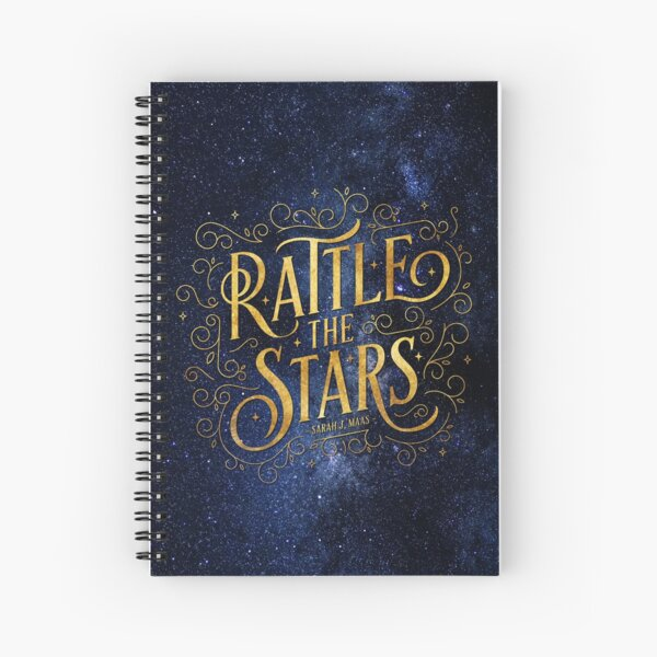 Rattle the Stars - Night Spiral Notebook
