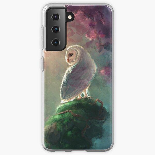 Barn Owl Samsung Galaxy Soft Case