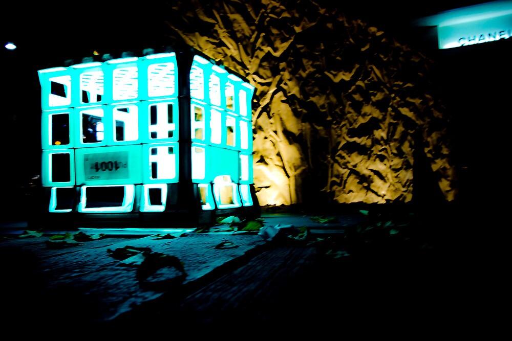 City at Night by codieglann