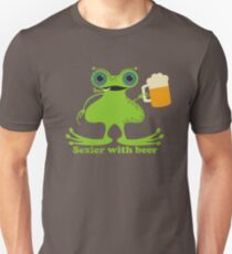Funny sexy burping beer frog T-Shirt