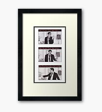 Our Pets Heads Are Fallin' Off Framed Print
