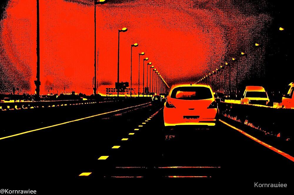 The red violent disturbance... Got 2 Featured Works by Kornrawiee