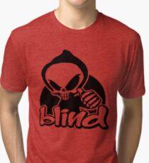 Blind skeleton. Tri-blend T-Shirt