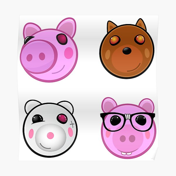 Piggy Posters Redbubble