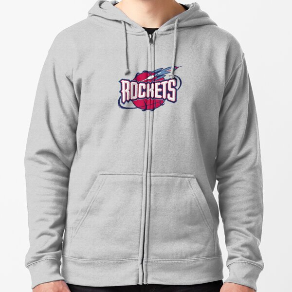 Retro,Rockets-Houston Icon Zipped Hoodie