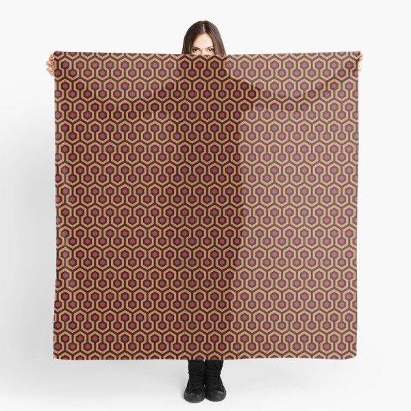 The Shining - Overlook Hotel Carpet Pattern (Précis) Foulard