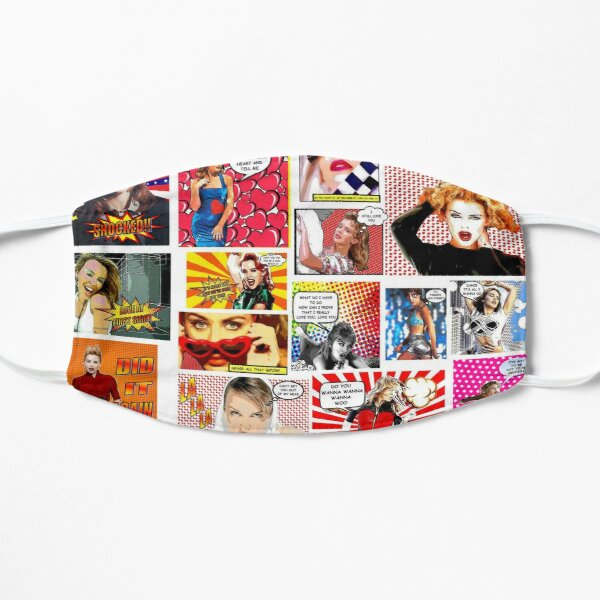 Kylie Minogue.....Even MORE POW Wow K30 Flat Mask