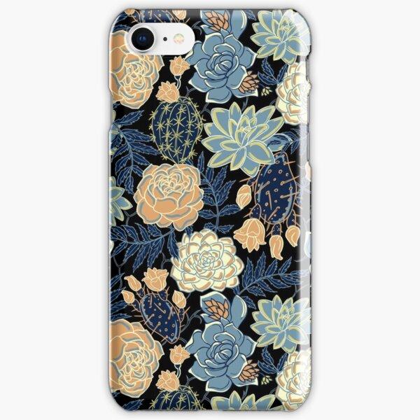 blue succulent iPhone Snap Case