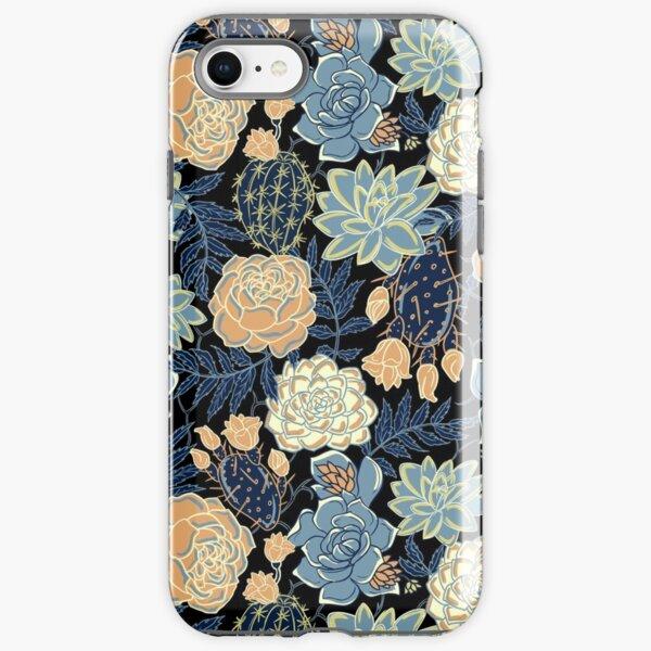 blue succulent iPhone Tough Case