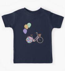 Love to Cycle on my Pink Bike Kids Tee