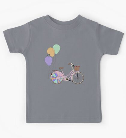 Love to Cycle on my Pink Bike Kids Clothes