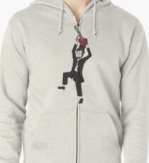 Chainsaw Lincoln Zipped Hoodie