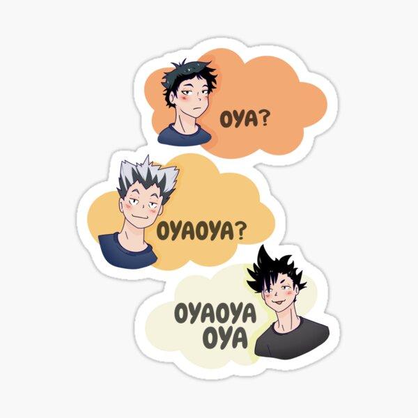 OyaOyaOya Sticker