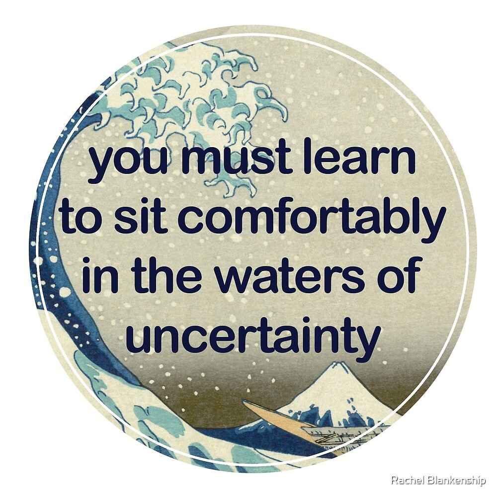 Note to self: sit comfortably by Rachel Blankenship