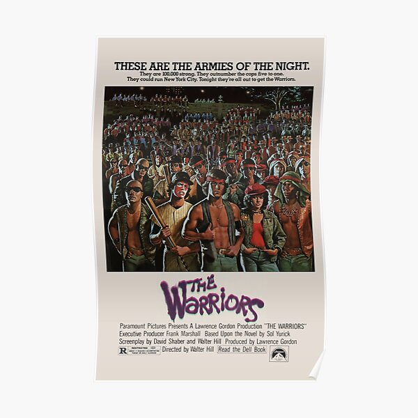 The Warriors - Vintage Movie Poster Poster