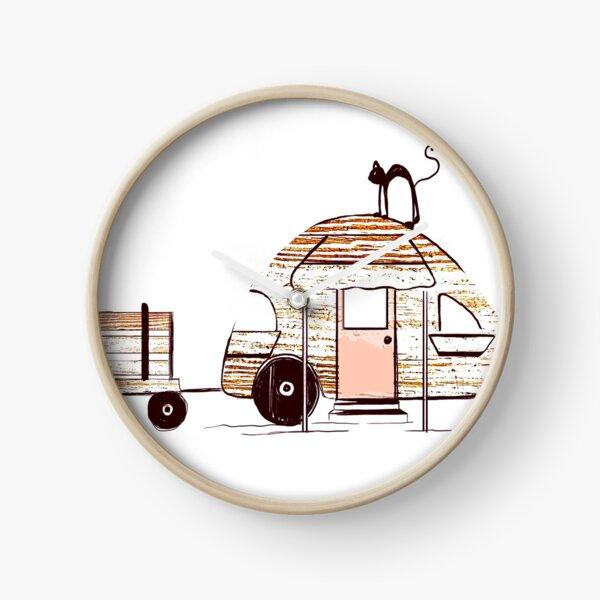 Happy Camper Clock