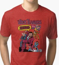 News Team Assemble! Tri-blend T-Shirt