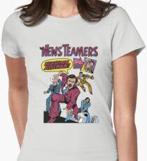 News Team Assemble! Womens Fitted T-Shirt