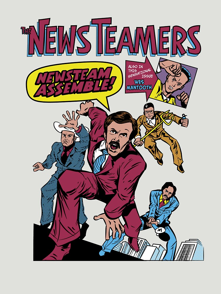 News Team Assemble! | Unisex T-Shirt