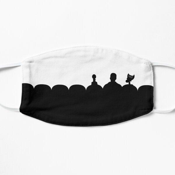 Silhouettes Flat Mask